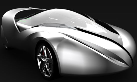 the car of light electric concept car by jong won
