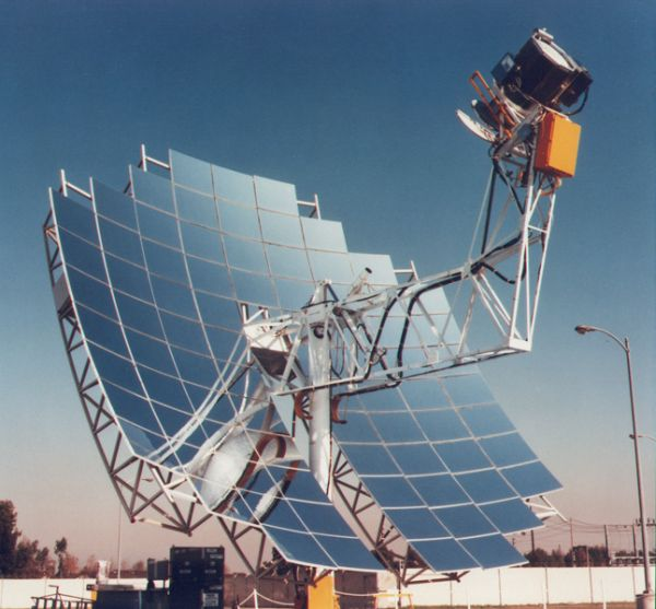 The bad about solar thermal energy