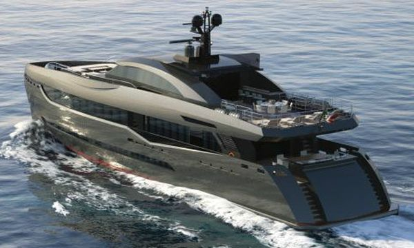 the columbus sport 130 hybrid superyacht
