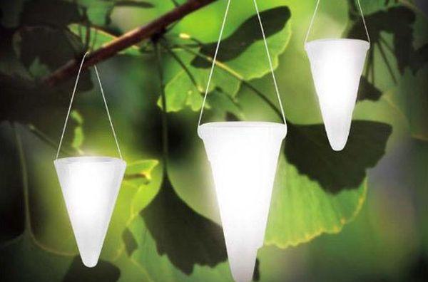The Hanging Solar Garden Light
