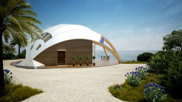 Small is green tiny houses with a green heart ecofriend for Small passive solar homes