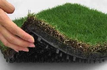 TM9 turf mats Self irrigating instant grass Roofing Turf Tiles