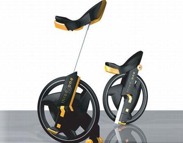 Three 2 one unicycle