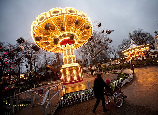 Eco Tech Copenhagen S Tivoli Amusement Park To Get Power