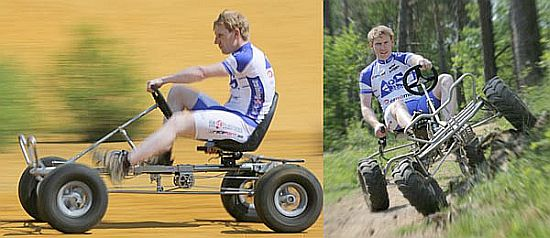 World's first pedal-powered 4WD off-road vehicle will ...