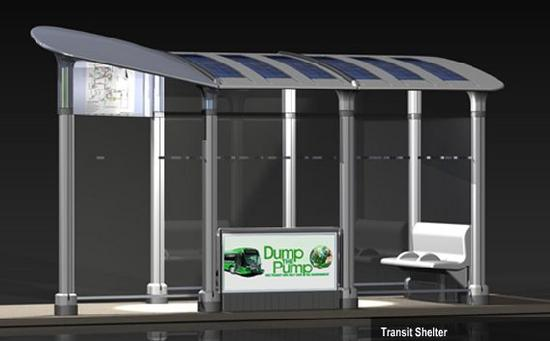 Google Solar Roof >> Solar-powered Transit Shelter promises safety to both ...