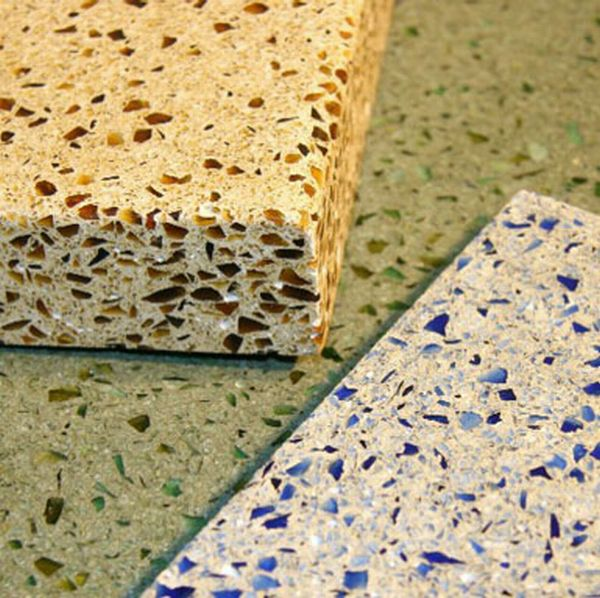Recycled Glass Countertops : Best recycled glass countertops for eco friendly kitchens