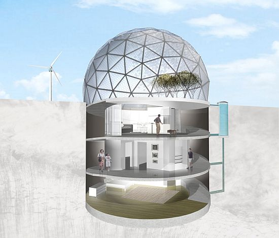 Eco architecture futuristic designer envisions uldus for for Self sufficient house plans