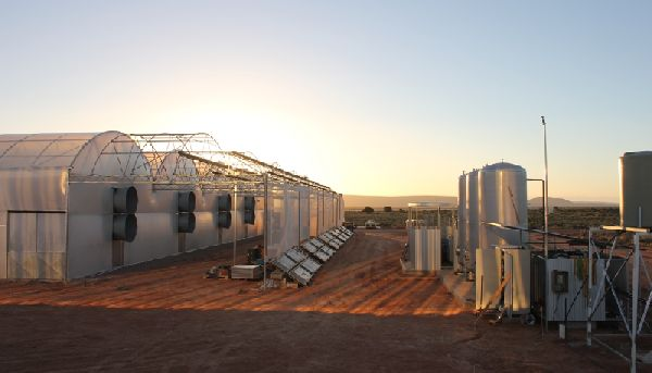 Unique greenhouse could spur outback growth