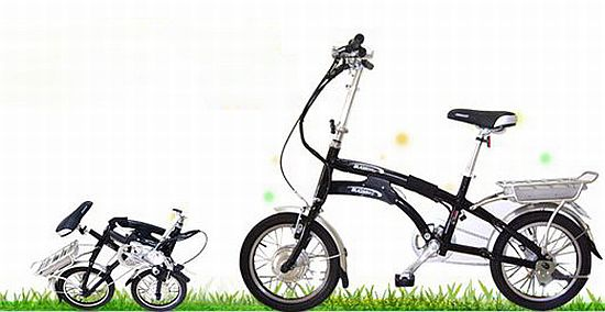 urbanlit e electric folding bicycle 1