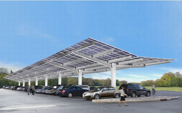 Vanguard Inclined Solar Roof Is Perfect For Parking