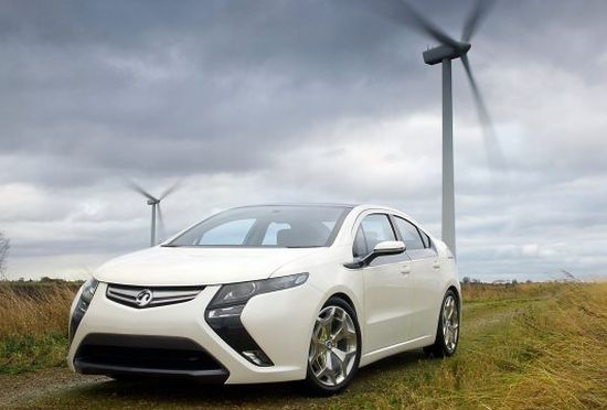 vauxhall ampera e rev electric car 3