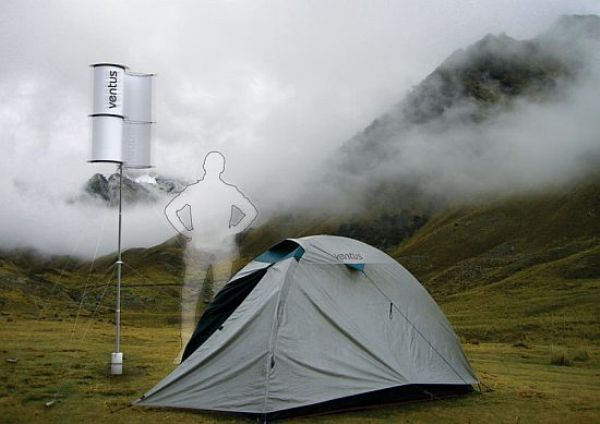 ventus portable folding wind power station by serg