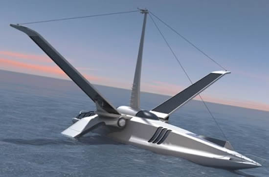 Volitan A Futuristic Eco Friendly Sailboat Promises Uber