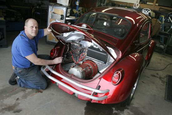 Vehicles modified to run clean on electric engines - Ecofriend