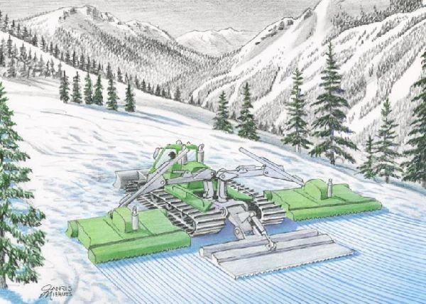 Volvo-Powered Ecogroomer