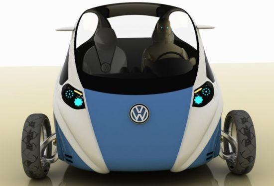 Bug Electric Car Zero Emission Lightweight Concept