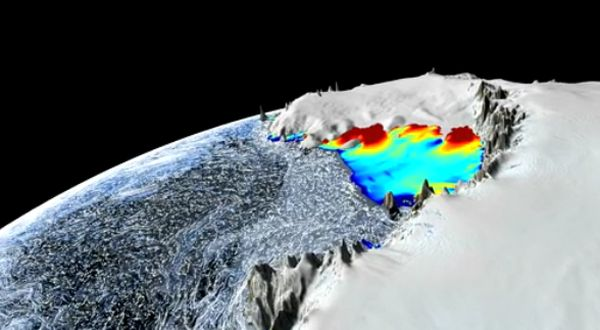 Warm Ocean Currents Cause Majority of Ice Loss from Antarctica