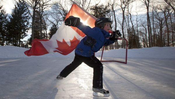 Warming threatens ice hockey in Canada