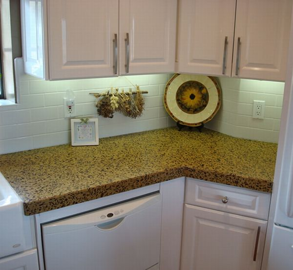 Best Recycled Glass Countertops For Eco Friendly Kitchens
