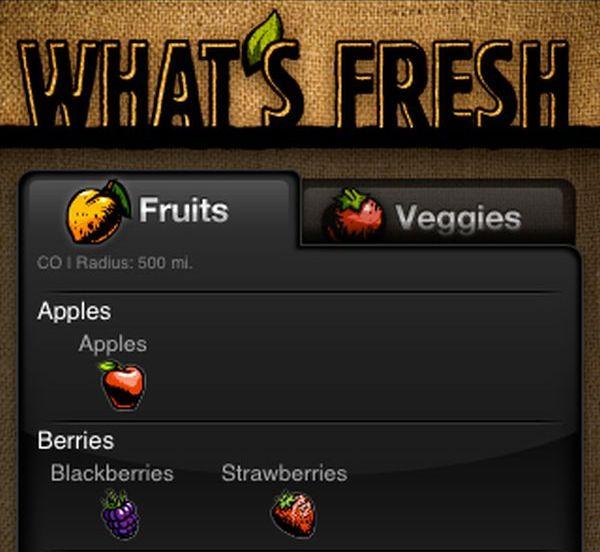 What's Fresh App