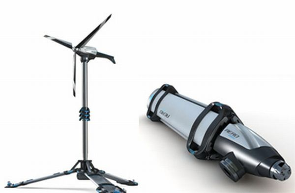 Wind powered gadgets