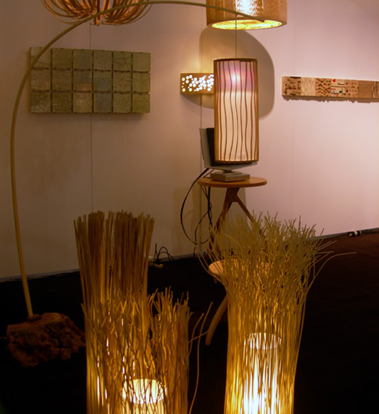 Nori Morimoto's Wooden light sculptures are extraordinarily eco ...