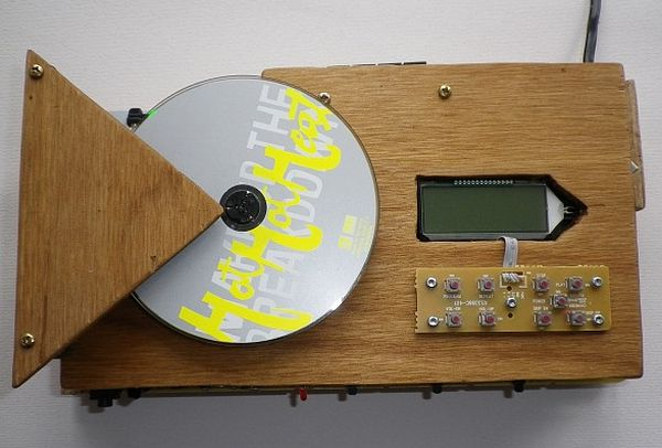 Wooden radio & cd player