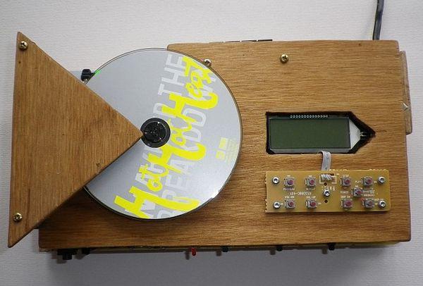 Wooden radio & cd player