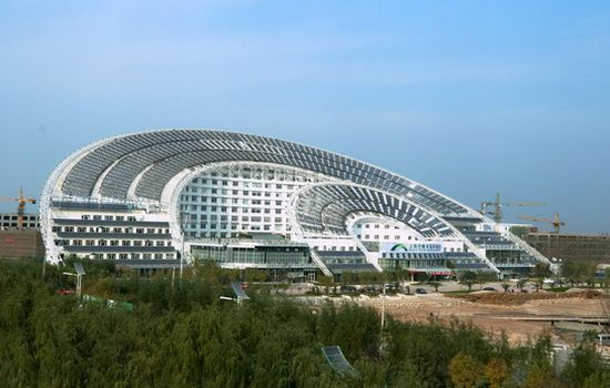 Eco Architecture: World's largest solar-powered office building ...