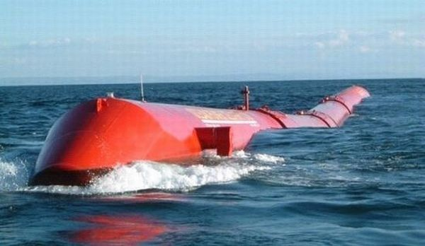 World's first wave power plant