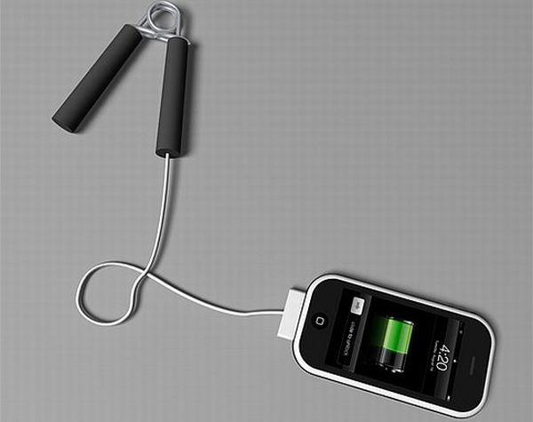 Wrist grip charging