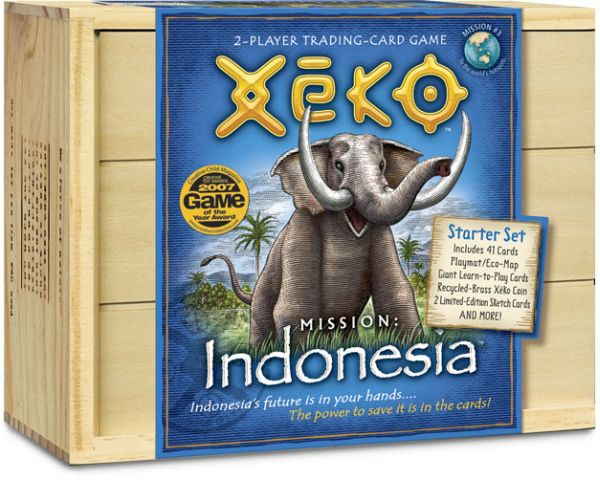 Xeko 2-Player Trading Cards Indonesia Starter Kit