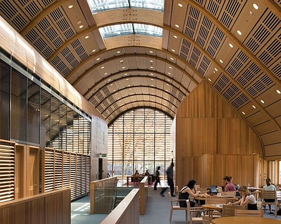 eco architecture hopkins architects give yale university