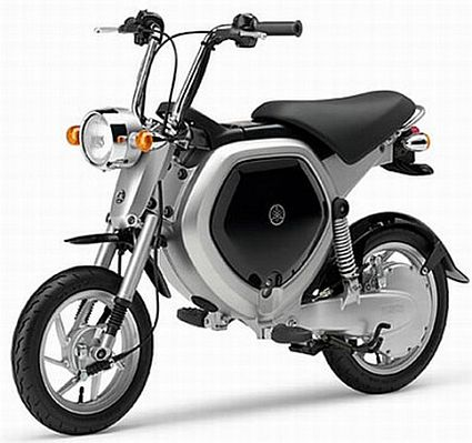 Yamaha's EC-02 Electric bike glows in the dark – Ecofriend