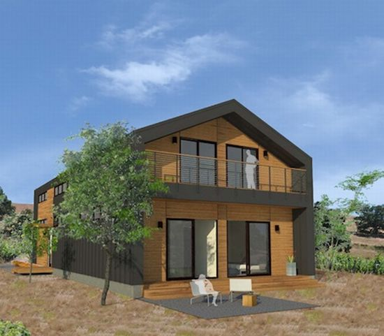 Michelle kaufman studios zero energy prefab home series for Zero energy homes