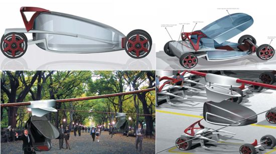 zero impact urban mobility vehicle