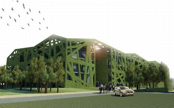 zero-emission office building for Provincia di Parma