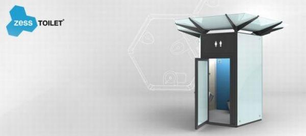 ZESS Public Toilet concept