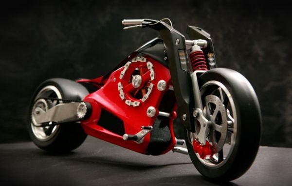 ZEVS electric motorbike