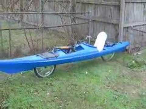 The Bike Yak Pedal Powered Bike Kayak Ecofriend