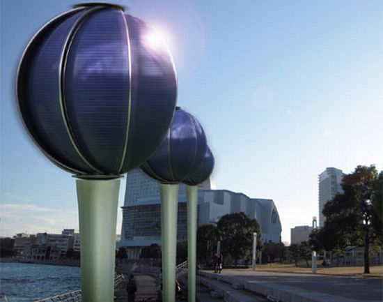 Aard Concept Energy Generator Produces Solar And Wind