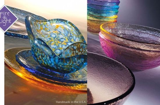 Beautiful Tableware Made Out Of Recycled Glass Ecofriend