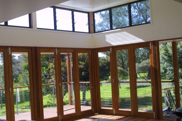 How to choose and install eco friendly bi fold doors for a for Eco friendly doors