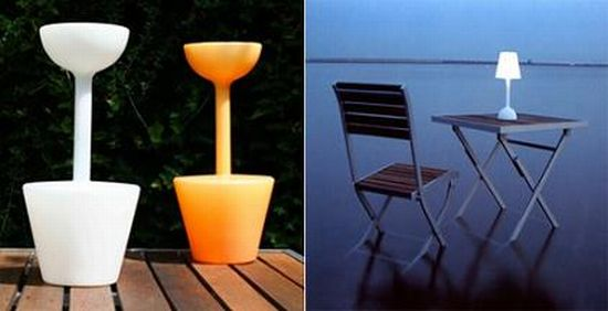 Solar table lamp from Bloom | Ecofriend