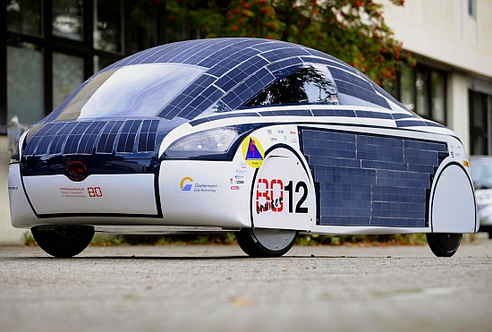 Eco Cars Weird Looking Solar Car From Germany Aims To Win