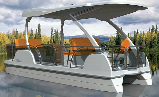 Eco Boats Go Green On Water With Buffalo S Solar Powered