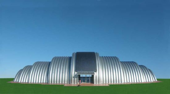 Eco Architecture Eco Shell Multi Use Building System Gets