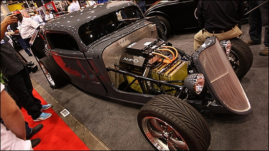 Machusetts Based Factory Five The World S Leading Designer And Er Of Kit Cars Has Showcased An All Electric Version A 1933 Hot Rod That