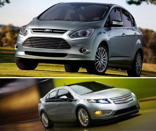 Ford C Max Energi And Chevrolet Volt Are Plugs In Hybrids Yet Neither Of Them Completely Undermine The Importance Petrol As Second Source